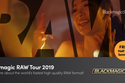 Blackmagic RAW Tour 2019!